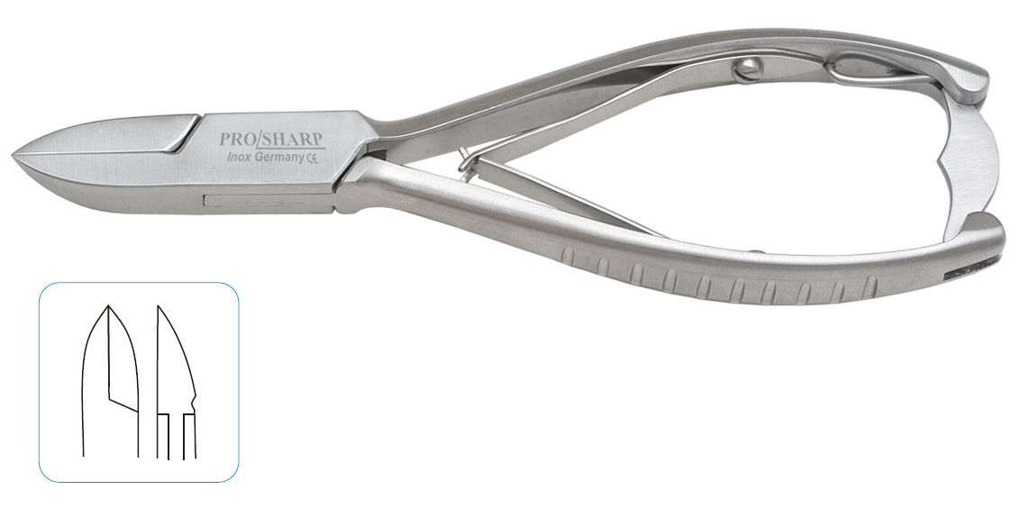 Nail Clipper Straight Jaw 14cm
